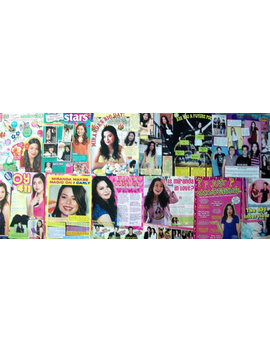 Miranda Cosgrove ~ I Carly, Drake And Josh, Despicable Me, Crowded, Carly Shay ~ Color Articles For Scrapbooking by Etsy