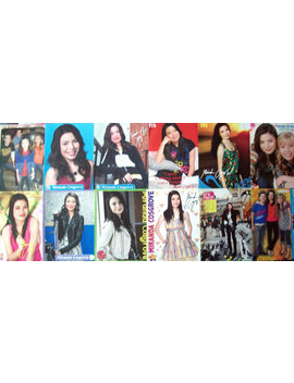 Miranda Cosgrove ~ I Carly, Drake And Josh, Despicable Me, Crowded, Carly Shay ~ Color Pin Ups, Posters For Scrapbooking by Etsy