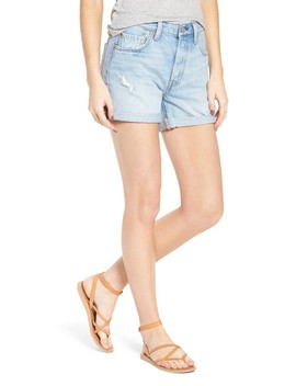 501® Cuffed Long Denim Shorts by Levi's®