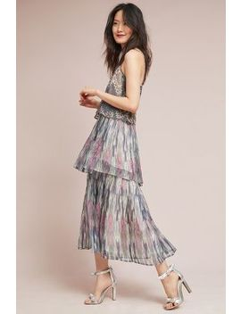Josie Tiered Maxi Dress by Meadow Rue