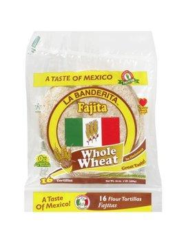 "La Banderita Whole Wheat 6"" Fajita Tortillas, 16 Ct by La Banderita"