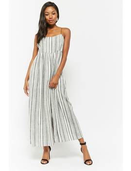 Plaid Cami Wide Leg Jumpsuit by F21 Contemporary