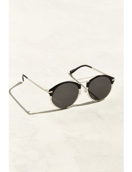 Cut Out Half Frame Sunglasses by Urban Outfitters