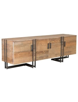 Martine Reclaimed Pine 4 Door Tv Stand By Kosas Home by Kosas Home