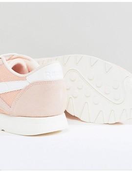 Reebok Classic Nylon Sneakers In Peach by Reebok