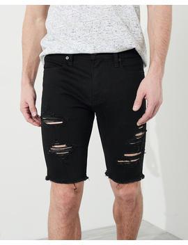 Super Skinny Denim Short by Hollister