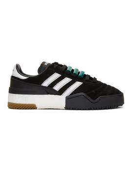 Black Aw B Ball Soccer Sneakers by Adidas Originals By Alexander Wang