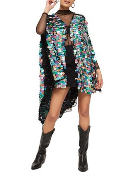 Dee Dee Maxi Cape by Topshop