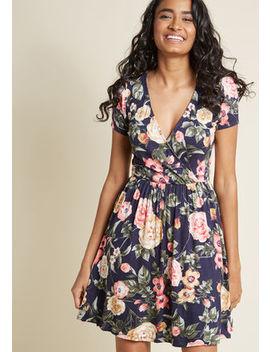 Flawlessly Flirty Short Sleeve Dress In 1 X Flawlessly Flirty Short Sleeve Dress In 1 X by Modcloth