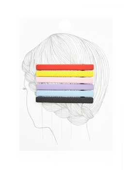 Bar Hair Clip Set by Forever 21