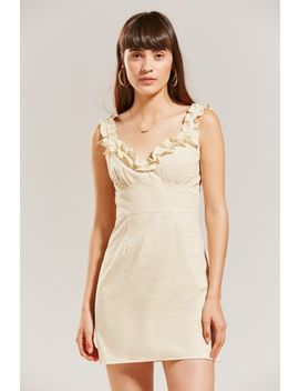 Lykke Wullf Dolores Ruffle Mini Dress by Lykke Wullf
