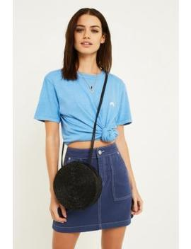 Uo Blue Rainbow Embroidery Dictionary T Shirt by Urban Outfitters