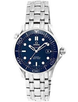 Omega Men's 21230362003001 Seamaster300 Analog Display Swiss Automatic Silver Watch by Omega