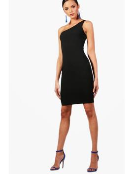 Tall Paige One Shoulder Bodycon Mini Dress by Boohoo
