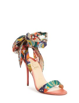Sandale Du Desert Ankle Wrap Sandal by Christian Louboutin