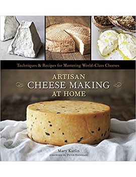 Artisan Cheese Making At Home: Techniques & Recipes For Mastering World Class Cheeses by Mary Karlin