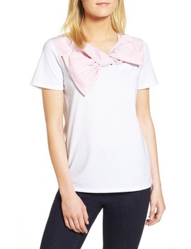 Woven Bow Tee by 1901