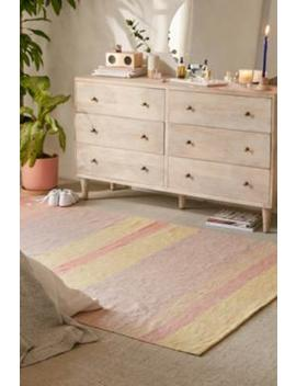 Aneko 5x7 Striped Woven Rug by Urban Outfitters