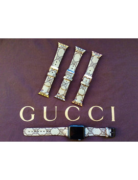 Gucci Apple Watch Band Series 1 2 3 , 42mm, 38mm, Gold,Rose Gold, Silver, Black, Gc Watch Band by Etsy