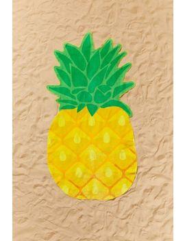 Sunnylife Pineapple Shaped Beach Towel by Sunnylife