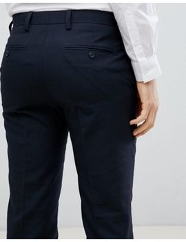 French Connection Smart Slim Fit Trousers by French Connection