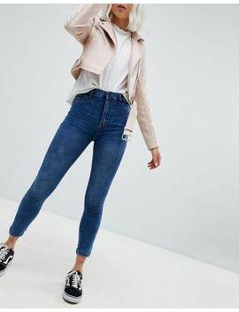 Pull&Bear High Waist Skinny Jean by Pull&Bear