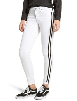 Sarah Active Stripe Skinny Jeans by Articles Of Society