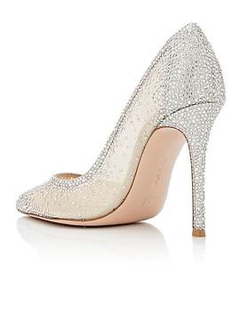 Rania Crystal Embellished Pumps by Gianvito Rossi