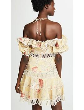 Melody Off Shoulder Dress by Zimmermann