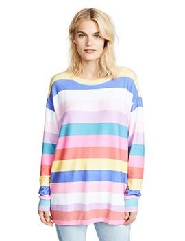 Castaway Stripe Roadtrip Sweater by Wildfox
