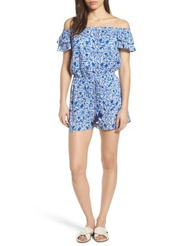 Bahamas Otomi Print Cotton Romper by Vineyard Vines
