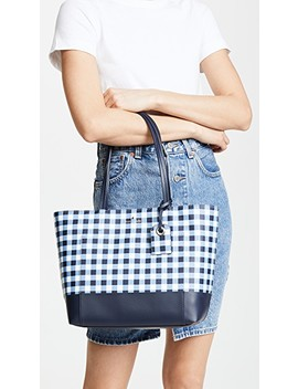 Hyde Lane Gingham Riley Tote by Kate Spade New York