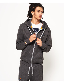Orange Label Cali Zip Hoodie by Superdry