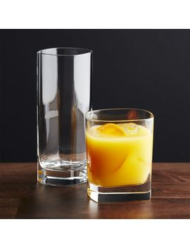 Strauss Glasses by Crate&Barrel