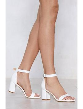 Love Will Tear Us Two Part Sandal by Nasty Gal