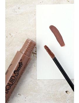 Nyx Sandstorm Nude Liquid Suede Cream Lipstick by Nyx