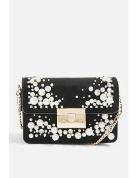 Ozara Pearl And Diamante Cross Body Bag by Topshop
