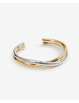 Twisted Bangle by Ann Taylor