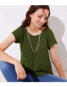 Multistrand Beaded Slider Necklace by Loft