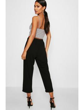 Holly Tapered Trouser by Boohoo