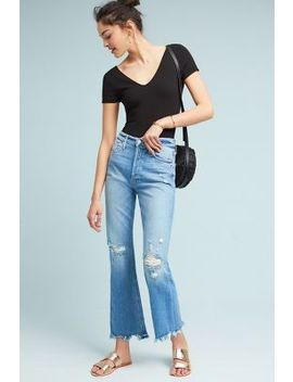 Mother The Tripper Ultra High Rise Cropped Flare Jeans by Mother