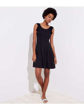 Ruffle Strap Flare Dress by Loft