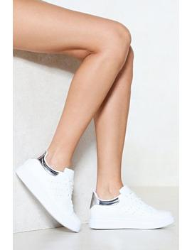 Sneaker A Peek Lace Up Sneaker by Nasty Gal