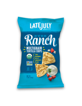 Late July Organic Gluten Free Dude Ranch Multigrain Snack Chips, 5.5 Oz by Late July