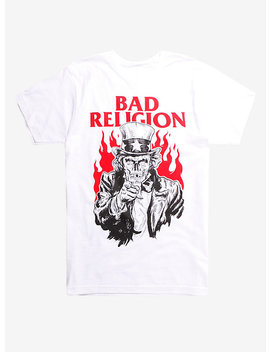 Bad Religion Skeleton T Shirt by Hot Topic