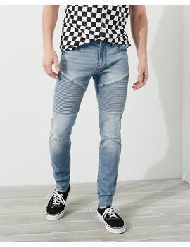Advanced Stretch Super Skinny Denim Jeans by Hollister
