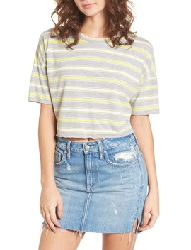 Stripe Crop Tee by Codexmode