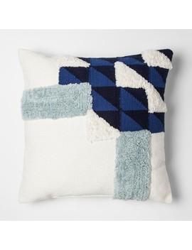 Blue Color Block Throw Pillow   Project 62™ + Nate Berkus™ by Project 62™ + Nate Berkus™