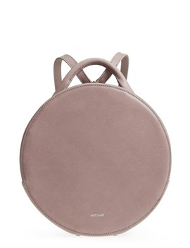 Kiara Faux Leather Circle Backpack by Matt & Nat