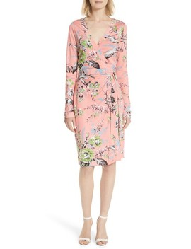 Julian Floral Silk Wrap Dress by Dvf